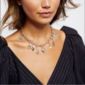 Free People Jewelry - Free people charm necklace